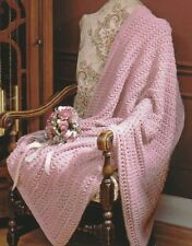 Knitting Pattern ~ Pretty Lace Afghan ~ Instructions