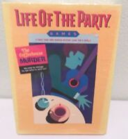 Life of the Party - Coffee House Murder - Milton Bradley Party Game