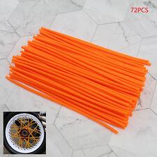 Universal Spoke Wrap Cover Enduro Wheel Rim Wheel Covers Trim Wrap17cm Orange