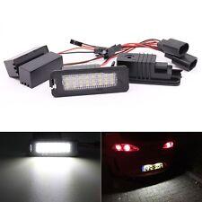 2X24SMD LED License Plate Light For VW Golf 6 VI 5 V GTI Seat Leon Altea
