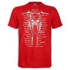 DUCATI maglietta t-shirt metro motorbike rossa TG. S