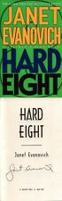 Janet Evanovich SIGNED AUTOGRAPHED Hard Eight HC *Stephanie Plum* 1st Ed/1st