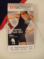 TRIUMPH TRIACTION TONING STAR BV HIGH LEVEL SPORTS SHIRT BRA FR 90E, EU 75E