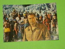 KARL MAY - WINNETOU III - FILMPOSTKARTE NR. 25 / PIERRE BRICE / LEX BARKER