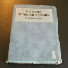 Vtg The Queen of the Red Chessmen Book by Lucretia Hale 1940s   -BB+