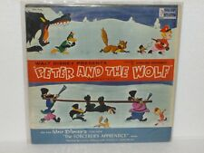 PETER & the WOLF - Soundtrack LP - SORCERERS APPRENTICE - Disneyland WDL-1016