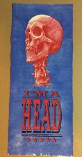 AJ Masthay Signed I'm A Head Poster Red Variant Edition of 15 Numbered 2017