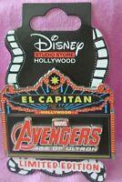 Disney Soda Fountain Avengers Age Of Ultron Marquee Pin Disney Studio DSF LE 500