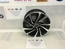 "Citroen DS4 7.5J X 17"" Alloy Wheel Black Canberra"