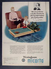 1952 Herman Miller George Nelson Occasional Table photo Micarta vintage print Ad