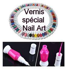 LOT 10 Vernis Nail Art ongle déco précision cool Neuf / de chez Miniboutic Nails