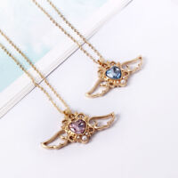 Anime Sailor Moon 25th Anniversary Princess Serenity Necklace Angel Wing Pendant