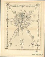 Jessie M. King 1902 Art Nouveau masterpiece old print Fairy Tales Hans Anderson