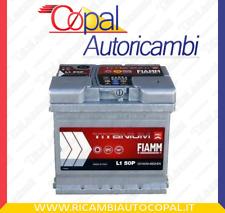 L150P BATTERIA AUTO FIAMM TITANIUM 50Ah 460A EN +DX 12V L150
