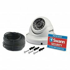 Swann 4600 Pro-H856 1080p HD Dome CCTV Camera Night Vision With Splitter Cable