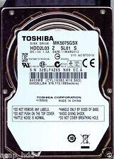 TOSHIBA SATA 500GB MK5075GSX,  HDD2L03 Z SL01 S