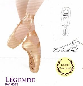 NWT Sansha Legende Professional toe pointe shoes no need to break in strong shnk