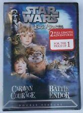 Star Wars Ewok Adventures:Caravan of Courage /The Battle for Endor /DVD, Region1
