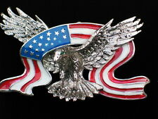 MEMORIAL INDEPENDENCE DAY UNITED STATES USA PATRIOTIC EAGLE PIN BROOCH PENDANT