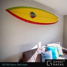 New Surfboard Rack by Ghost Racks 'SPECTRE' ORIGINAL/MULTI-ANGLED Wall Display