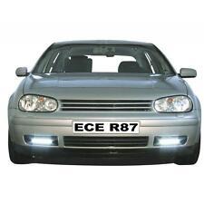 RAID LED Tagfahrlicht schwarz für VW Golf IV 4 1J Stoßstangen Einsatz ECE R87