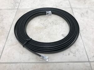Front Panel Separation Cable Black for Icom IC-2730A
