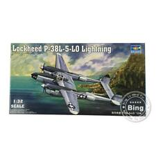 02227 Lockheed P-38L-5-LO Lightning 1/32 Scale Fighter Warcraft Plane Trumpeter