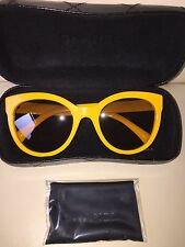 Authentique Chanel 5315 C 1508/S6 Lunettes de soleil jaune 54 20 140 2N le BOY collection