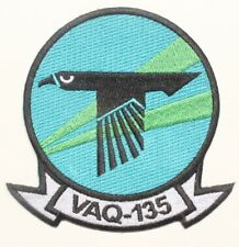 "USN Navy patch:  Electronics Warfare Squadron 135 (VAQ-135) - 4"""