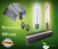 Digital Ballast 400/600/1000w HPS MH Lamp Grow Light Reflector Hydroponics Kit