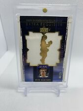 2003-2004 Upper Deck Exquisite Collection Dirk Nowitzki Dual Jersey Gold # 8/25