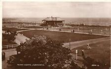Tennis Courts Carnoustie RP pc used 1927 Valentines