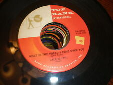 Jack Scott 45 What In The World's Come Over You TOP RANK