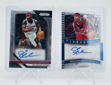 Panini Prizm Quentin Richardson Auto Lot X 2 Clippers