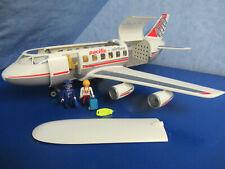 4310 avión jet pilot stewardes figuras a 4311 aeropuerto Playmobil 1730