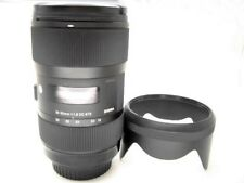 18-35mm 1:1.8 Weitwinkelobjektiv lichtstarkes ZOOM Porträt für Canon EF EOS