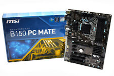 MOTHERBOARD MSI B150 PC MATE 1151 DDR4 ATX