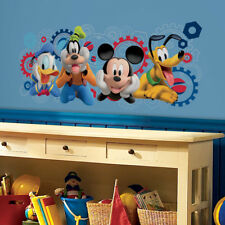 Roommates Disney Mickey Mouse Clubhouse Wall Sticker, Giant Mickey Mouse Sticker