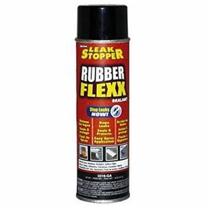Rubber Flexx Leak Repair & Sealant Spray 18 Oz 100 % Flexible Seal Waterproof