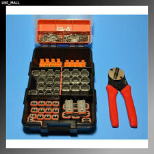 231 PCS DEUTSCH DT Genuine 2 + 4 Pins Connectors KIT + Crimper, USA