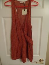 Women, Hinge, One-Piece-Jumper, Rust Ferns, Size:Medium, Nordstrom, New w/Tags