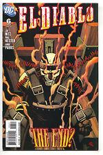 El Diablo 6 DC 2009 VF NM Chato Santana Suicide Squad Movie