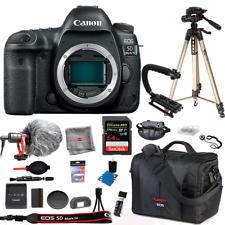 Canon EOS 5D Mark Cámara Cuerpo Pro Bundle 64GB IV Micrófono Kit De Bolsa De Trípode