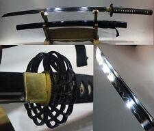 High Quality Japan Samurai Sword Katana Clay Tempered T10 Steel Razor Sharp #200