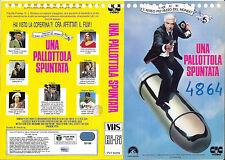 UNA PALLOTTOLA SPUNTATA (1988) vhs ex noleggio