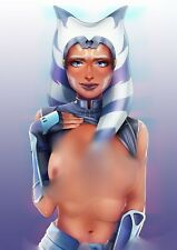 More details for star wars card fan artwork collectors edition ahsoka tano