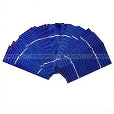 80 Pieces Total 78x26mm PV Poly Solar Cell Sun Power for DIY 25W Panel Charger