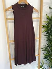 Kookai Plum Wool Dress - Free Size - VGC