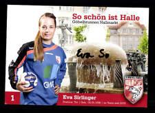 Eva Sirlinger Autogrammkarte SV Union Halle Neustadt OriginalHandball + A165514