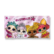 """L.O.L Surprise Beach Towel Glitterati Pink Multi 28"""" x 58"""""""